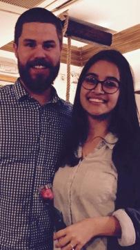 Alejandra and I